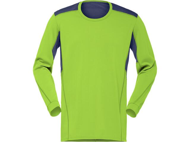 Norrøna Falketind Super Wool Shirt Herre birch green